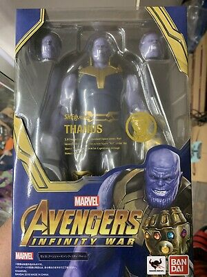 SH Figuarts Marvel Avengers Infinity War Thanos Figure Sealed in Box US Seller