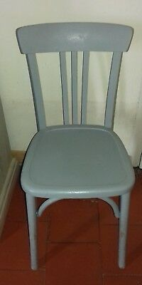 1 CHAISE BISTROT Luterma Estampillee Sous Lassise