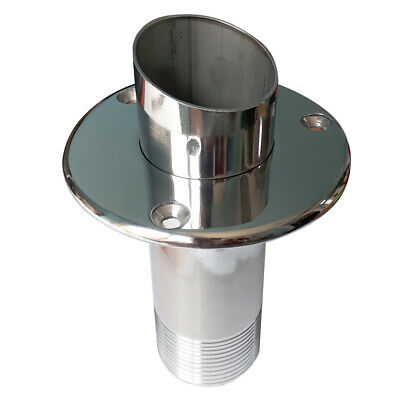 Cut Pipe Exhaust Outlet With Muffler Boat/Marine ( Ø 38 mm )