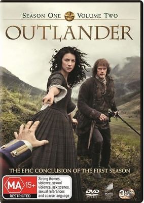 Outlander : Season 1 : Part 2 (DVD, 2015, 3-Disc Set), NEW SEALED AUSTRALIAN