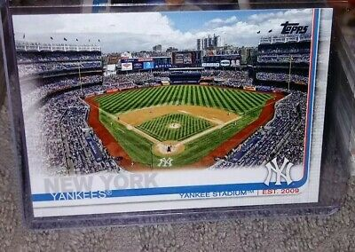 2019 Topps Series 1 Base #47 Yankee Stadium - New York Yankees