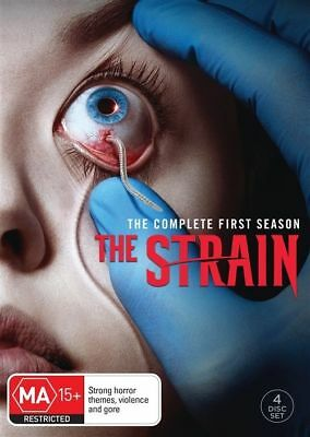 The Strain : Season 1 (DVD, 2016, 4-Disc Set), NEW SEALED AUSTRALIAN