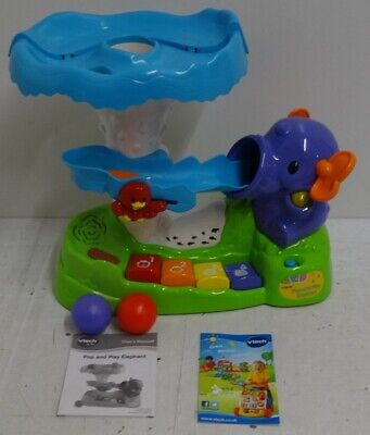 VTech Pop and Play Elephant RRP 34.99 lot C0128 4026554