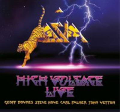Asia-High Voltage Live (UK IMPORT) CD with DVD NEW