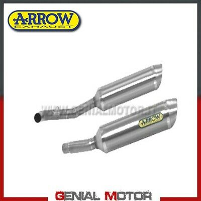 Tubos De Escape Arrow Thunder Titanio Kawasaki Z 1000 2009 09