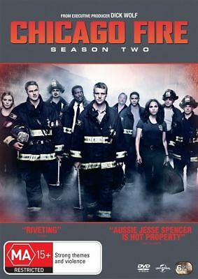 Chicago Fire : Season 2 (DVD, 2014, 6-Disc Set), NEW SEALED AUSTRALIAN