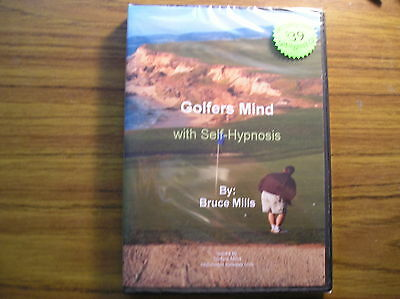 Golfers Mind - Self Hypnosis CD SRP $39