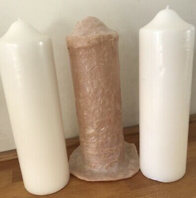 2 X Latex Moulds for making this Pair Of Church STYLE CANDLEs