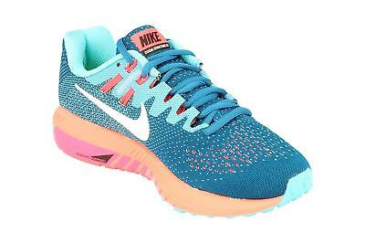 3753e6563d9b3 Femmes Nike Air Zoom Structure 20 Industriel Bleu Basket Course 849577 402