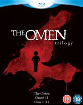 Lee Remick, Gregory Peck-Omen Trilogy (UK IMPORT) Blu-ray NEW