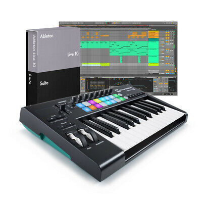 Ableton Live 10 Suite with Launchkey 25 v2 Bundle (NEW)