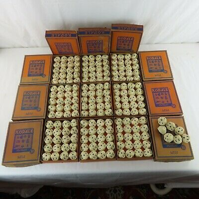 187 Rodale Multi-Outlet Plugs Ivory Bakelite 1930s New Old Stock in Original Box