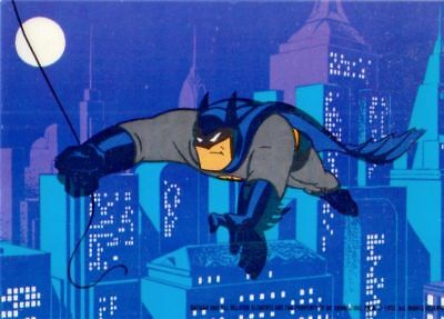 Batman Animated Series 1 Mini Cel Chase Card Collect All 6 Topps 1993