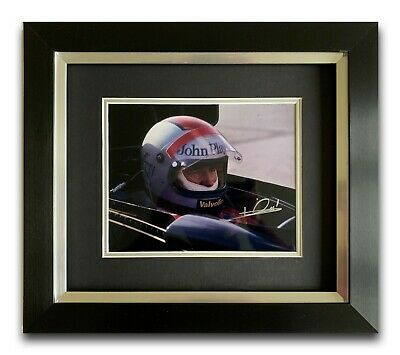 Mario Andretti Hand Signed Framed Photo Display - Lotus - Formula 1 A.
