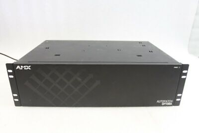 AMX Autopatch Optima 8x8 VGA 10x10 BNC Video Distribution Matrix Switcher Router
