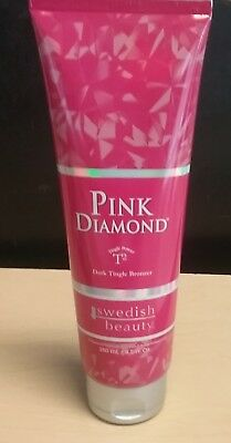 SWEDISH BEAUTY PINK DIAMOND T2 DARK TINGLE BRONZER 8.5 oz FAST FREE SHIPPING