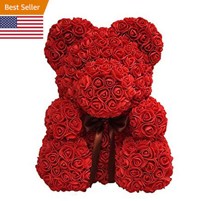 2019 Flower Teddy Bear - Perfect Valentine Gift- 24hrs Shipping