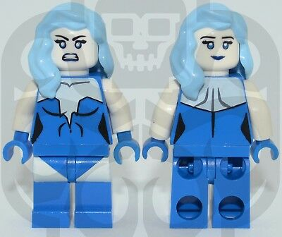 KILLER FROST DC Custom Printed LEGO Minifigure with Frost Flames NO DECALS USED!