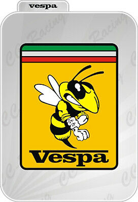 1 Adesivo  Sticker  PIAGGIO Stemma emblema badge Vespa Old introvabile