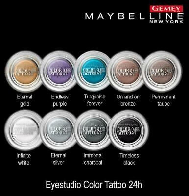 OMBRE - FARD A PAUPIERE COLOR TATTOO 24 Hr GEL CREME MAYBELLINE
