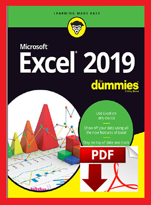 Excel 2019 For Dummies [LATEST  ]