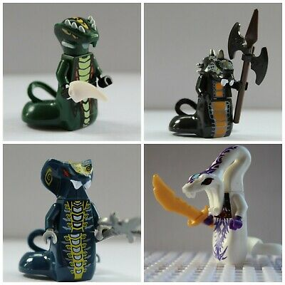 Ninjago Serpentine,Snake,Pythor,Skales,Acidius Toy Mini Figures use with lego 2