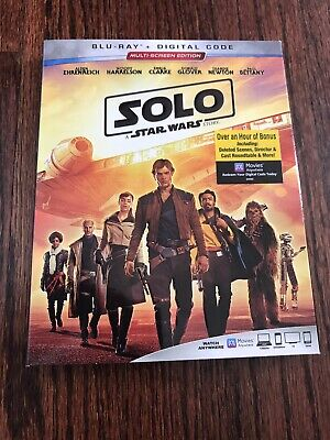 Solo: A Star Wars Story, Blu-ray + Digital Code, Brand New Sealed!