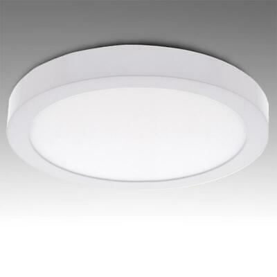 PLAFON DE SUPERFICIE TECHO LED CIRCULAR 220mm 18w 1440lm BLANCO NATURAL