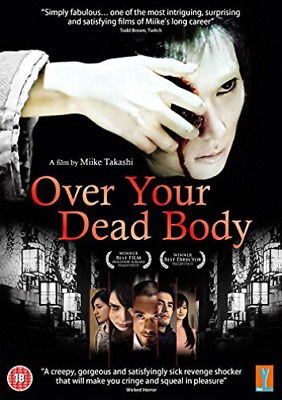 Over Your Dead Body (UK IMPORT) DVD NEW