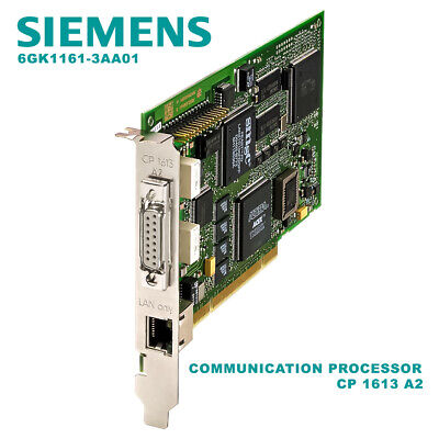 Siemens 6GK1161-3AA01 COMMUNICATION PROCESSOR CP 1613 A2