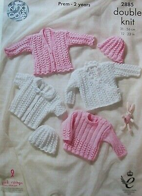 cd23ef434dc7 KING COLE 2885 Baby Cardigans