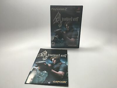 Resident Evil 4 - Playstation 2 Ps2 Box And Manual