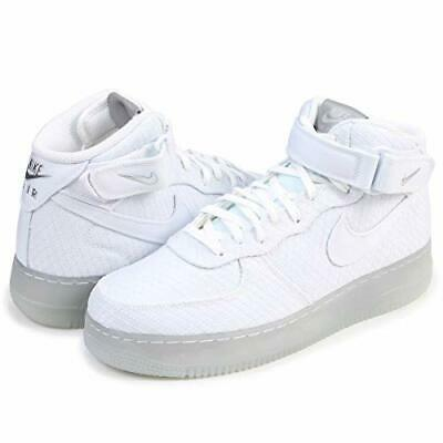 competitive price b6ac1 6c38e Nike Air Force 1 Medio LV8  07 Bianco Ghiaccio Argento 804609-102 Sz 8
