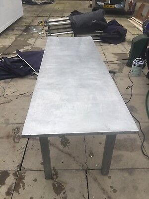 commercial stainless steel tables used