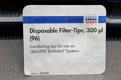 Qiagen Disposable Filter-Tips 300ul 96 Preps Cat. Number 9012599 (Lot of 18)