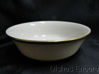 """Lenox Eternal, Ivory with Gold Trim: Soup / Cereal Bowl (s) 6 1/4"""""""