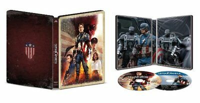 Captain America: The First Avenger (4K/Blu-ray/Digital) Steelbook Best Buy Excl