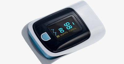 Advanced Finger Tip Pulse Oximeter with Neck and Wrist Cord