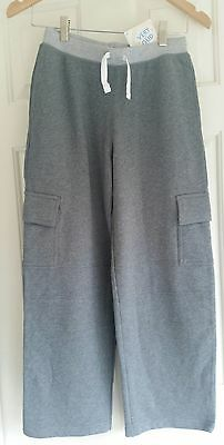 e686f3c82f1 Nwt Hanna Andersson Double Knee Cargo Sweats Sweatpants Pants Grey Gray 160  14