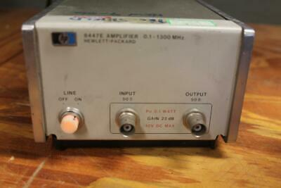 HP Hewlett Packard 8447E Amplifier 0.1-1300 MHz POWERS ON SEE NOTES