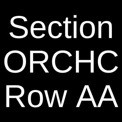 2 Tickets Come From Away 10/28/19 Gerald Schoenfeld Theatre New York, NY