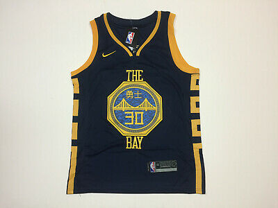 newest 698cf 678e8 STEPHEN CURRY #30 Golden State Warriors Men's Navy 2019 Chinese New Year  Jersey
