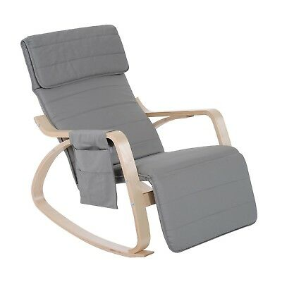 HOMCOM rocking/nursing chair