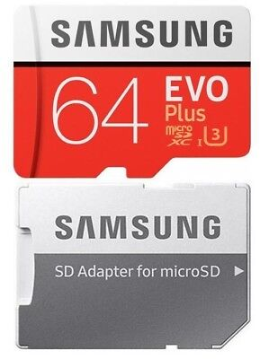 Samsung 64GB Micro SD Card EVO+ Class 10 100MB/s For Nintendo Switch Console