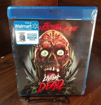 Return of the living dead (Blu-ray,2015,5X6 Art Card Movie Cover Color Book)NEW