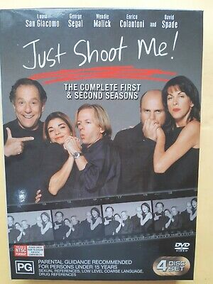 Just Shoot Me! : Season 1-2 [ 4 DVD Box Set ] Region 4, FREE Next Day Post