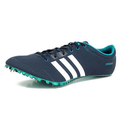 buy online dd0b8 19ee8 New Adidas Adizero Prime SP Mens Elite Track Spikes Sprint Shoes - Navy Blue