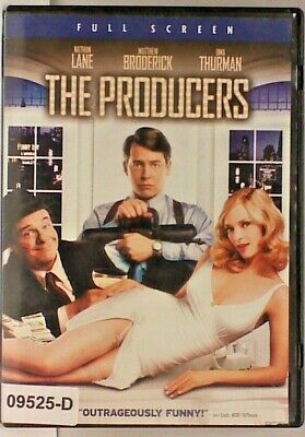 DVD Movie THE PRODUCERS Nathan Lane in Original Jacket FS