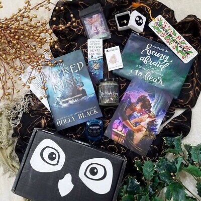 The Wicked King Holly Black Complete Owlcrate Box w/ Exclusive Signed Hardcover