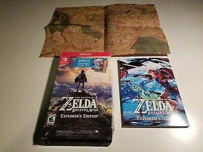 Legend of Zelda: Breath of the Wild - Explorer's Edition - NO GAME INCLUDED